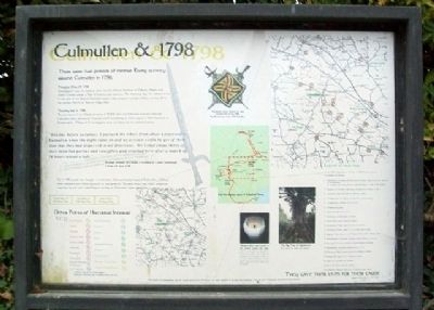 Culmullen & 1798 Marker image. Click for full size.