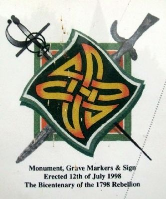 Culmullen & 1798 Marker Commemoration image. Click for full size.