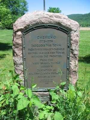 Chemung Marker image. Click for full size.
