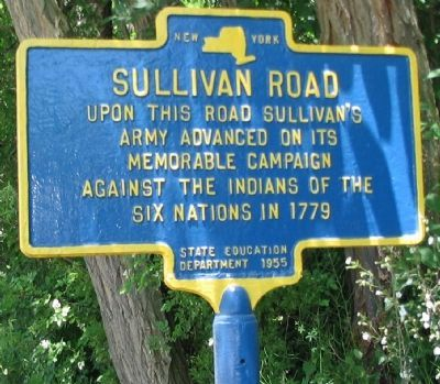 Sullivan Road Marker image. Click for full size.