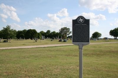 Chisholm Cemetery Marker image. Click for full size.