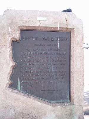 Bill Williams Mountain Marker image. Click for full size.