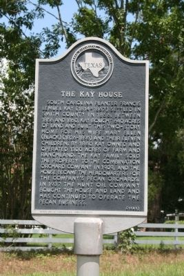 The Kay House Marker image. Click for full size.