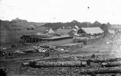 Stoneman's Station, Va, ca. 1860 - ca. 1865 image. Click for full size.