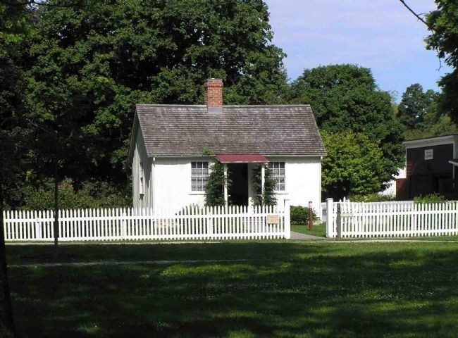 Hoover Birthplace Cottage (1871) image. Click for full size.