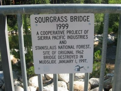 Sourgrass Bridge Marker image. Click for full size.