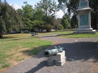Cannon at the Passaic County Soldiers and Sailors Monument image. Click for full size.