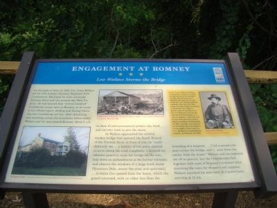 Engagement at Romney Marker image. Click for full size.