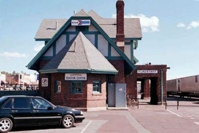 Flagstaff Railroad Depot image. Click for full size.