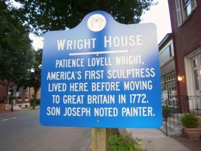Wright House Marker image. Click for full size.