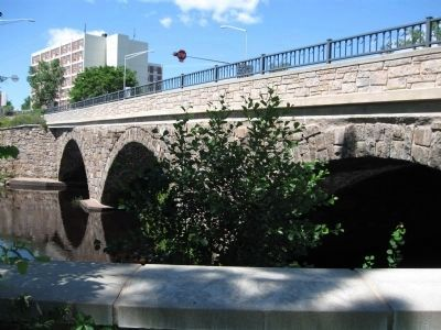Three Arch Stone Bridge image. Click for full size.