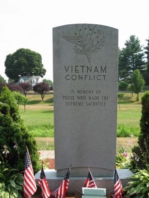 Bristol Vietnam Conflict Monument image. Click for full size.