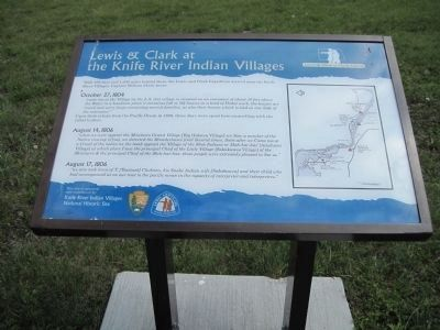Knife River Indian Villages Story Board image. Click for full size.