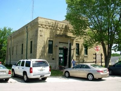 East Troy Railroad Terminal Building image. Click for full size.