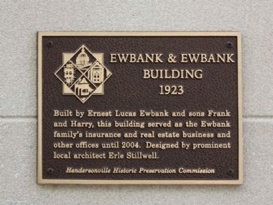 Ewbank & Ewbank Building Marker image. Click for full size.