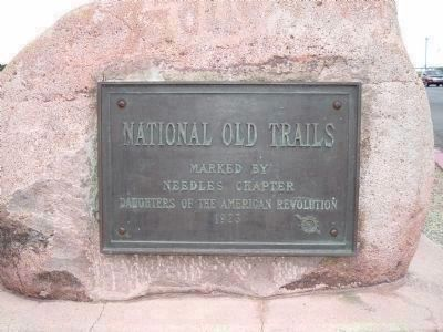 National Old Trails Marker image. Click for full size.