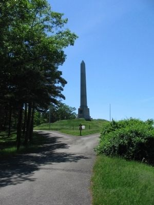 The Second Monument and a Portion of the Reservation image. Click for full size.