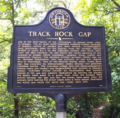 Track Rock Gap Marker image. Click for full size.