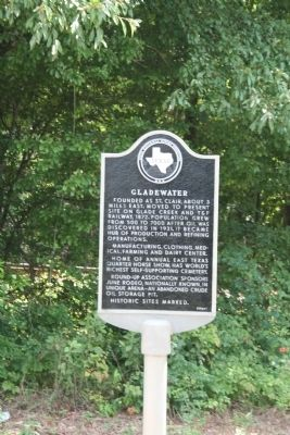 Gladewater Marker image. Click for full size.