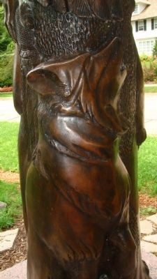 """Let The Great Spirits Soar"" Sculpture image. Click for full size."