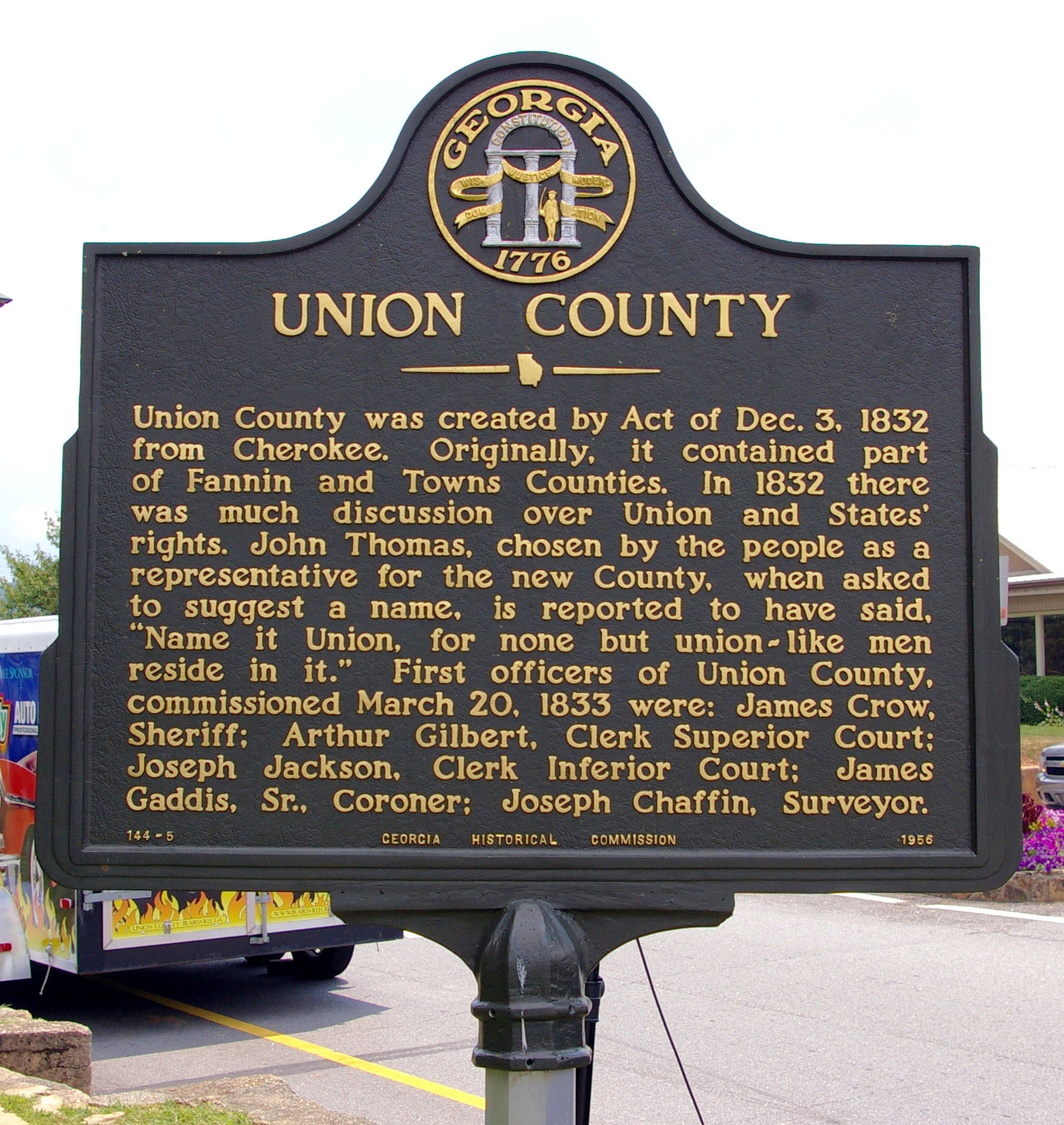 Union County Marker