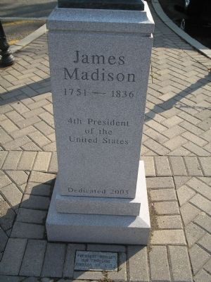 James Madison Marker image. Click for full size.