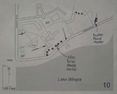 Map of Panther Mound Marker Area image. Click for full size.