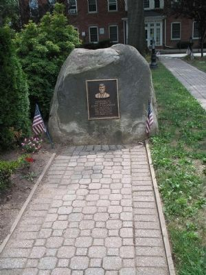 Marker in Nutley image. Click for full size.