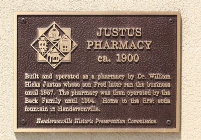 Justus Pharmacy Marker image. Click for full size.