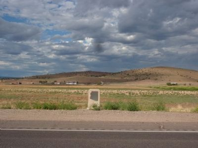 Del Rio Springs Marker - Looking East image. Click for full size.