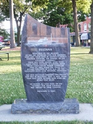 Sultana Marker image. Click for full size.