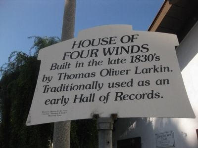 House of Four WInds Marker image. Click for full size.