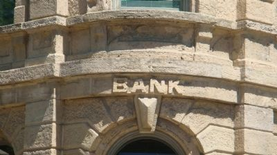 Closeup of American Exchange Bank Building image. Click for full size.