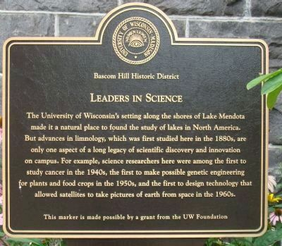 Leaders in Science Marker image. Click for full size.