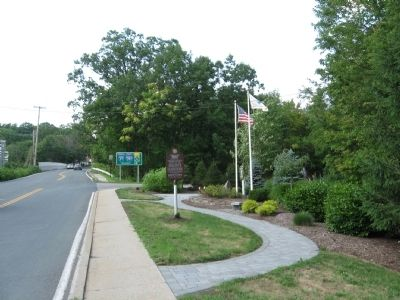 Rockland Brink's Robbery Marker image. Click for full size.