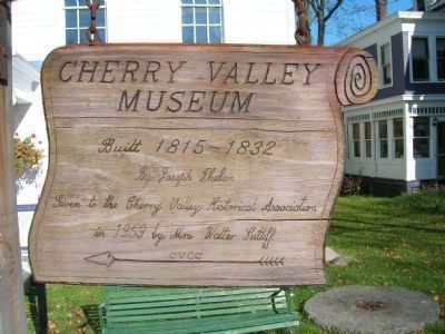 <i>Another</i> Cherry Valley Museum Marker image. Click for full size.