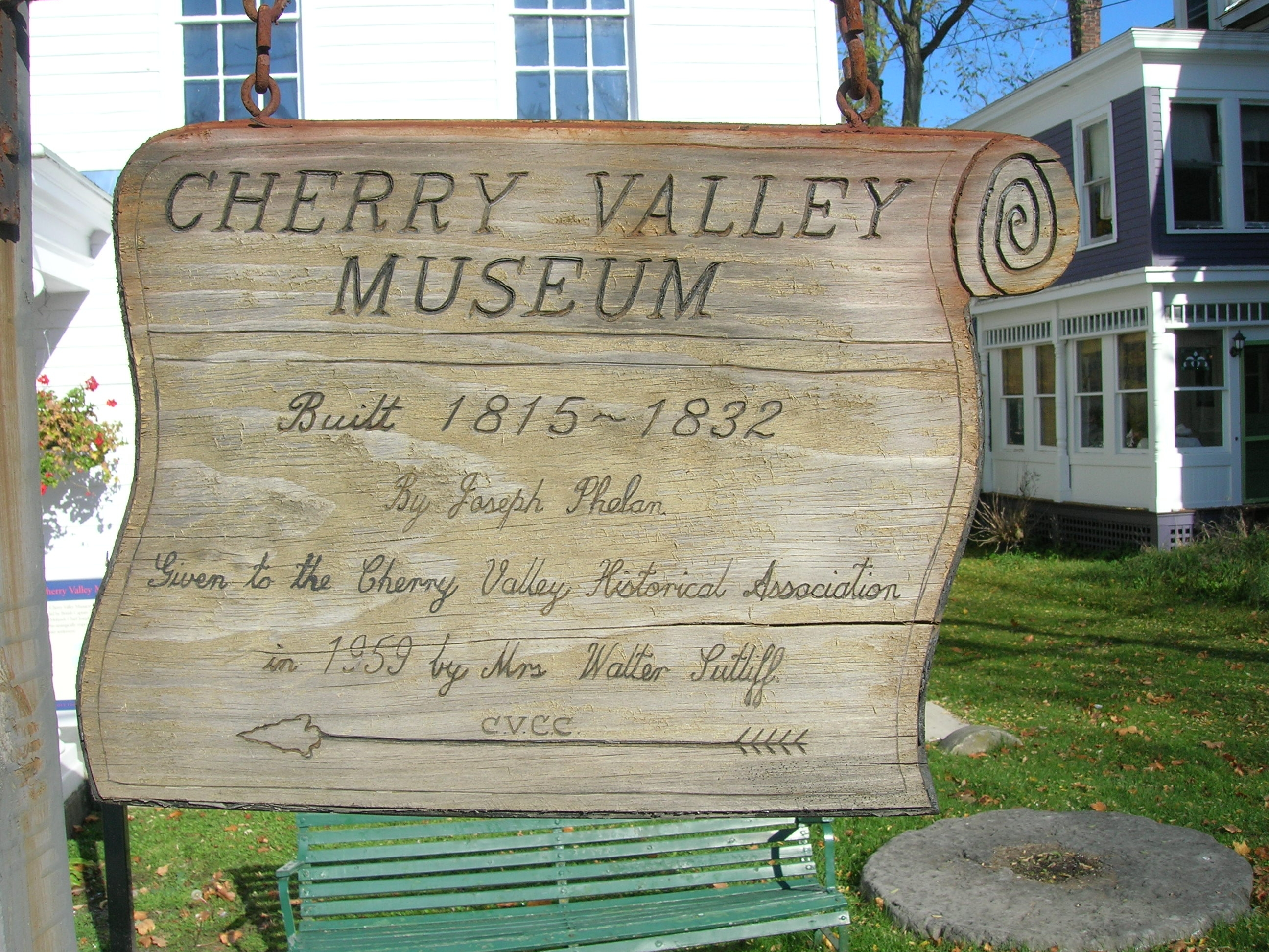 <i>Another</i> Cherry Valley Museum Marker