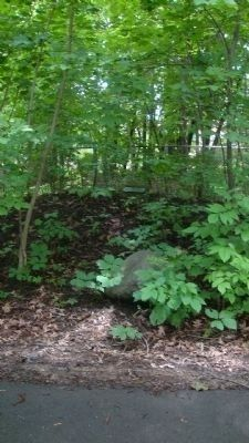 Indian Burial Mounds Marker image. Click for full size.