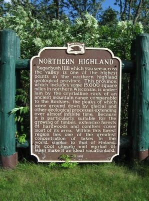 Northern Highland Marker image. Click for full size.