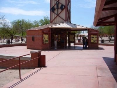 Sacaton Rest Area on I-10 Westbound. image. Click for full size.