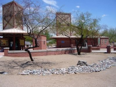 Sacaton rest area on I-10 easttbound at milepost 181. image. Click for full size.