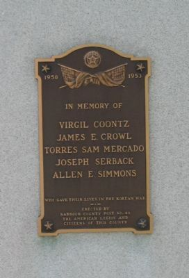 Left Side Plaque image. Click for full size.