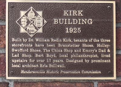 Kirk Building Marker image. Click for full size.