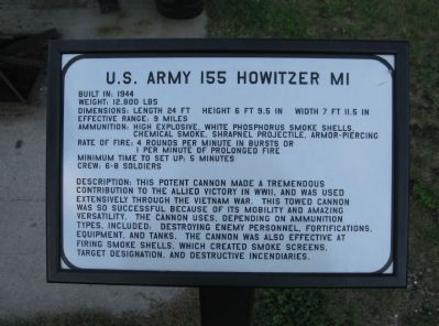 Howitzer Information image. Click for full size.