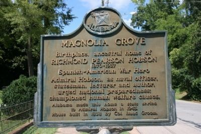Magnolia Grove Marker image. Click for full size.