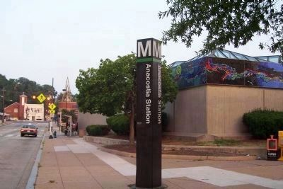 The Anacostia Metro Station image. Click for full size.