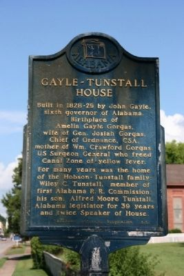 Gayle - Tunstall House Marker image. Click for full size.