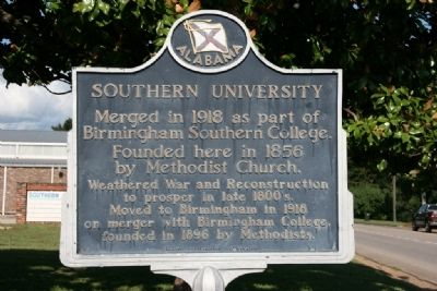 Southern University Marker image. Click for full size.