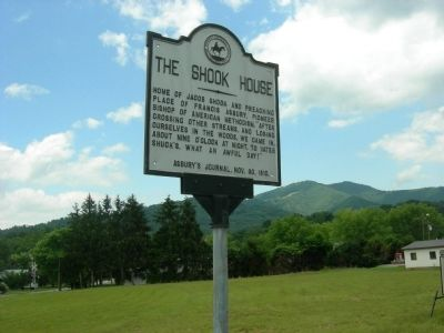 The Shook House Marker image. Click for full size.