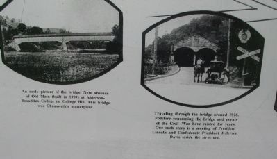 Two Photos on the Marker image. Click for full size.